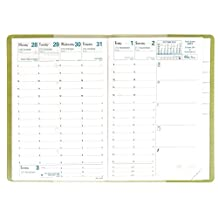 Quo Vadis 2016 Business Weekly Calendar Refill Plain Edge