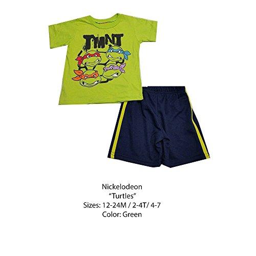 DISNEY KIDS SET (18 MONTHS, GREEN NINJA - Ninja Turtle Leggings Green