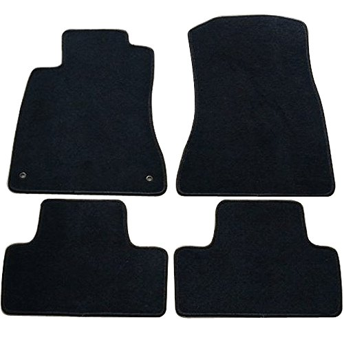 (Floor Mat Fits 2006-2012 Lexus IS350 IS250 Factory | Factory Fitment Car Front & Rear Nylon Car Floor Carpets Carpet liner by IKON MOTORSPORTS | ?2007 2008 2009 2010 2011)