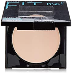 Ideal for normal to oily skin, this matte face powder visibly reduces the look of pores and mortifies shine, while effortlessly blending with the skin. The Fit Me Perlite Mineral technology absorbs oil to mortify skin, while pores virtually d...