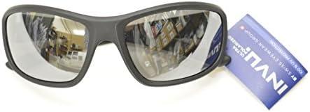 Gafas de sol polarizadas INVU a 2501 G negro espejo Silver ...