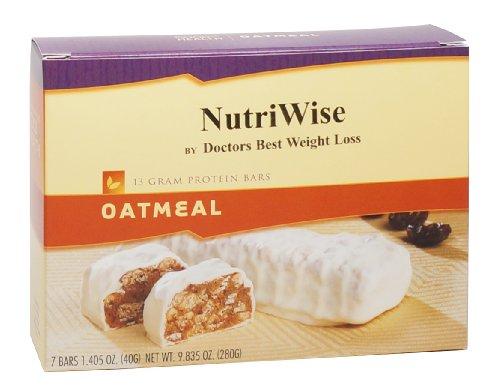 NutriWise - barras de proteína dieta avena (7 bares)