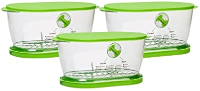 Prepworks from Progressive LKS-06 Lettuce Keeper(3 Pack) from Progressive International