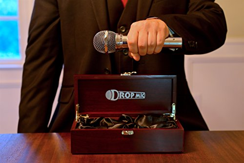 Executive Drop Mic: Never Be Without a Mic to Drop! Great Gag or Novelty Gift! Office Gift, Teacher Gift or Cubicle Accessory!