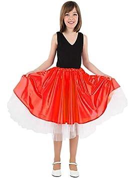 DISBACANAL Falda Olivia niña - Rojo, 10 años: Amazon.es: Juguetes ...