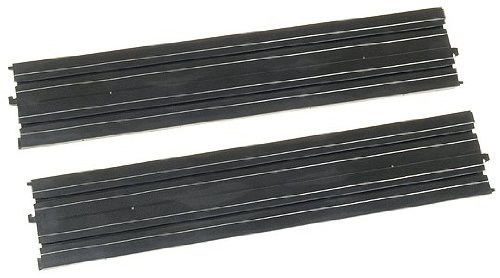"Life Like 9934 15"" Straight Track (2) HO Scale Slot Car Track from Life Like"
