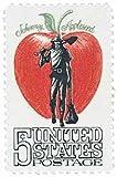 #1317 - 1966 5c Johnny Appleseed U. S. Postage Stamp Plate Block (4)