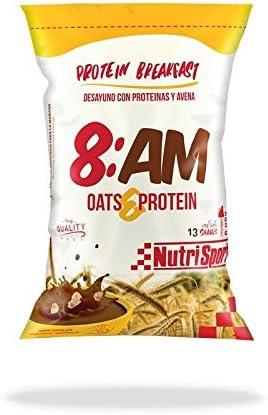Nutrisport 8AM Protein Breakfast 650 gr - Chocolate: Amazon ...