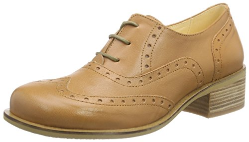 John W. Shoes Sora - Zapatos de cordones oxford Mujer Marrón - Braun (peach)