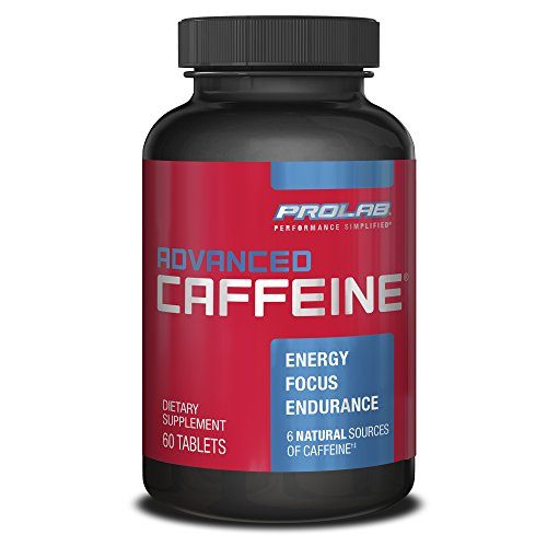 PROLAB Advanced Caffeine Tablets, 60-Count by ProLab