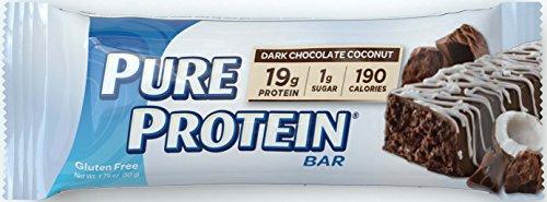 Pure Protein Dark Chocolate Coconut, 50 gram, 6 count