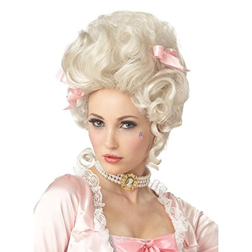 California Costumes Marie Antoinette Wig,Blonde,One