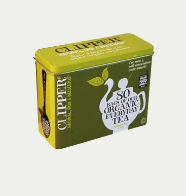 Clipper Pure Green Tea 80 Tea Bags