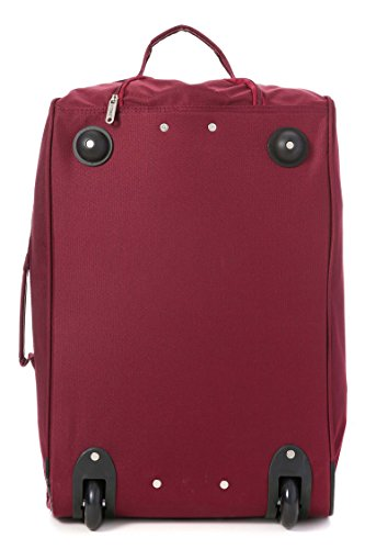 Bag 55cm Lightweight Cabin Cities 5 Carry Wine On Luggage Hand Trolley Approved Black Black 21