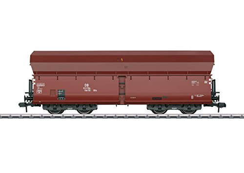 Car Gauge Hopper - Type Fad 50 Ootz Hopper Car - Ready to Run -- German Federal Railroad DB #613 784 (Era III, Boxcar Red)