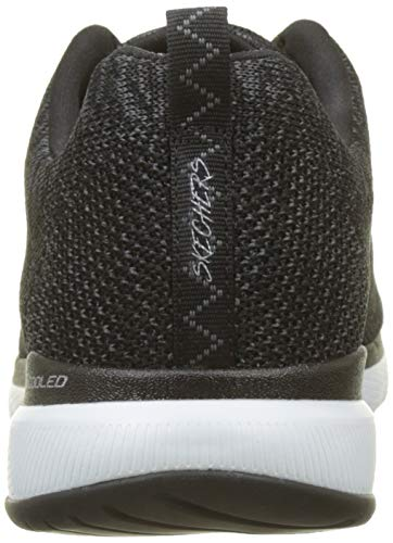 2 Energy Negro 0 Appeal Skechers Zapatillas Blanco High Mujer Flex BqZExwR