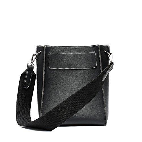 Negro mano MinottaUKD6028 Sintético de Minotta de Mujer bolso elegante nRtOPdqd8w