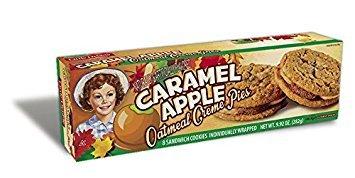 Little Debbie Caramel Apple Oatmeal Creme Pies 9.92oz (Single (Apple Oatmeal Cookies)