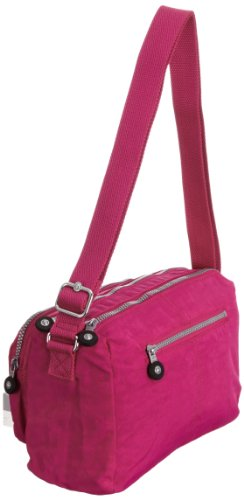 T Grau Berry Bag Pink x Reth H cm Cross Body Womens B Warm 27x17x15 Grey Kipling Verry XOBq6