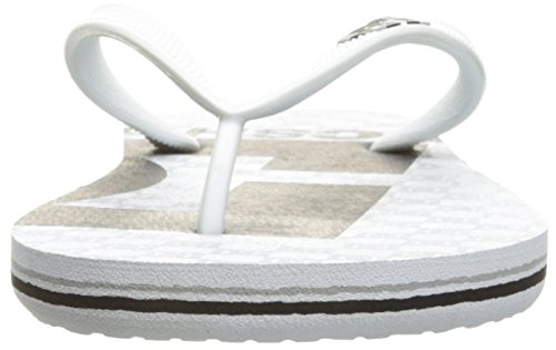 DC Männer Spray Graffik M 3 Point Sandal, EUR: 40.5, White/Black/White 2