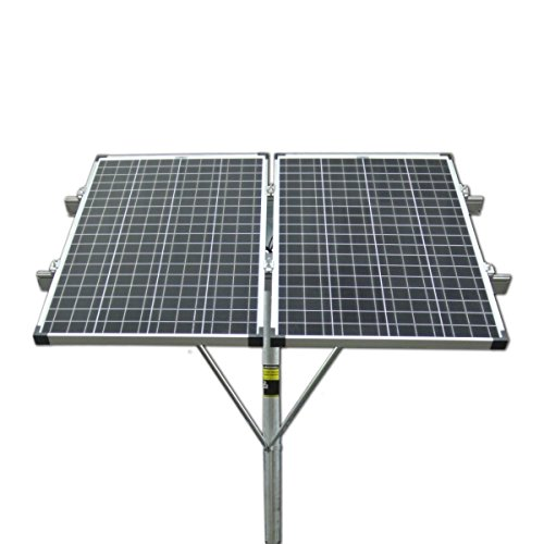 Missouri Wind and Solar Top of Pole Double 100 Watt Solar Panel Mounting Rack by Missouri Wind and Solar