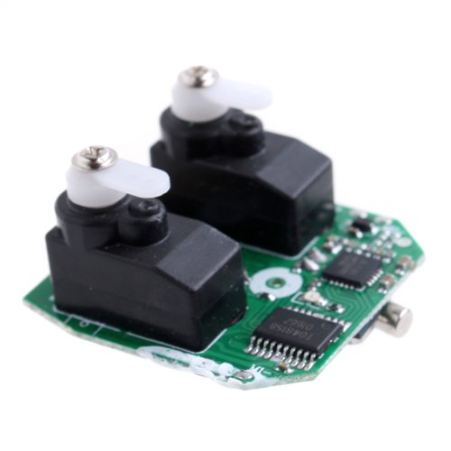 Kingzer 2.4G Electric Receiver Board Spare Part for 4CH 2.4GHz WLTOYS V911 RC - Parts Electric Helicopter