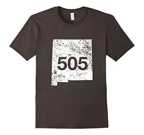 Mens Albuquerque Gallup Santa Fe Area Code 505 Shirt, NM Gift Large - Shops Gift Albuquerque