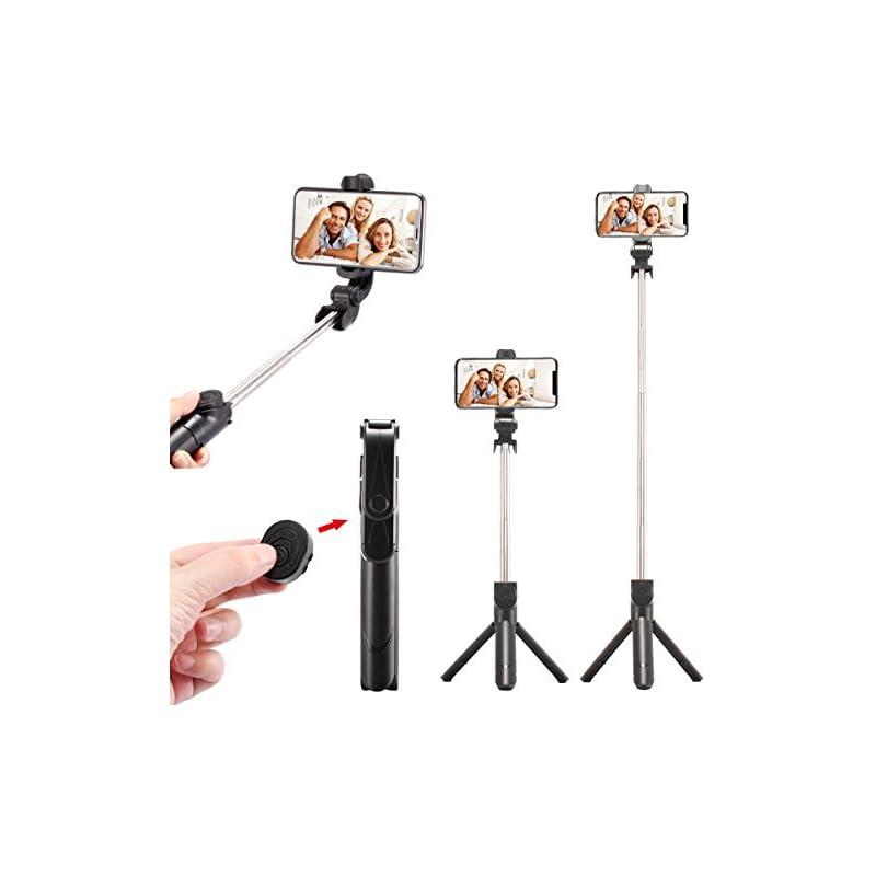 WONGYEAH Selfie Stick Tripod Bluetooth,