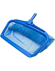 Pool Skimmer Net Heavy Duty Leaf Rake Cleaning Tool for Pool Accessories