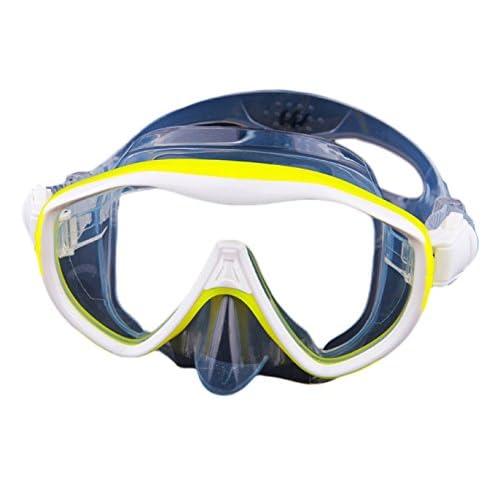 Masque De Plongée Masques De Plongée Snorkeling Équipement De Miroir D'eau Adulte Grand Miroir De Grenouille