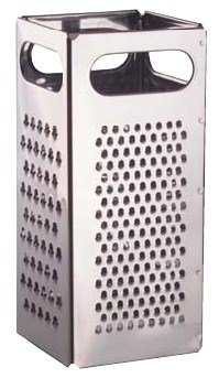 Traex 4 Sided Stainless Steel Grater (13-0309) Category: Graters