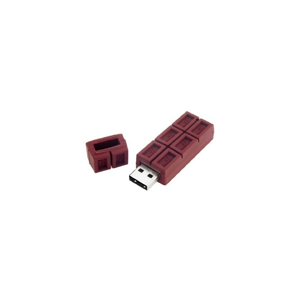 Trust&buy Chocolate Shape USB Flash U Disk Individuality Gift   32GB