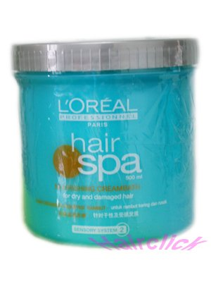 l 39 oreal professionnel hair spa nourishing creambath 500 ml by hair treatment buy online in. Black Bedroom Furniture Sets. Home Design Ideas