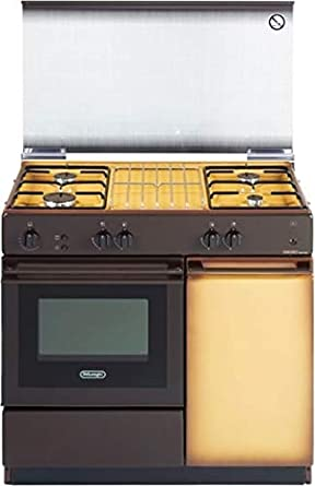 De Longhi SGGK 854 N ED - Cocina de gas con horno de gas (4 fuegos ...