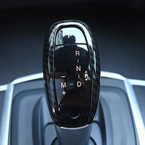 Nrpfell New! Carbon Fiber Style Abs Plastic Gear Shift Head Cover Trim For Alfa Romeo Giulia Stelvio 2017 Car Accessories
