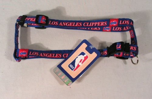 "Hunter Los Angeles Clippers Adjustable Pet Harness, 3/4"" Wide Medium"