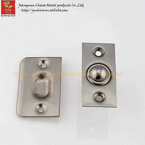 wholesale 10PCS Stainless steel 304 cylindrical adjustable door catches,cabinet door catch,kitchen door catches,door stopper by Kasuki (Image #1)