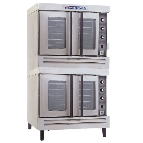 Bakers Pride Cyclone BCO-G2 Full Size Double Gas Convection Oven
