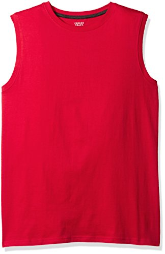 French Toast Men's Muscle Tee, Red, Medium