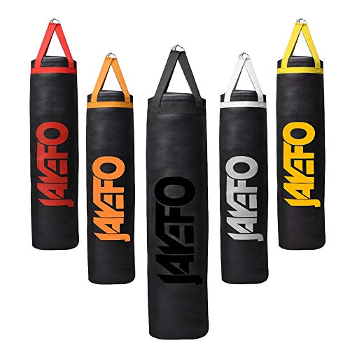 Jayefo Trexter Heavy Punching Bag 6-5-4 FT 10 Year Warranty Muay Thai Heavy Bag Boxing MMA Fitness Workout Training Kick Boxing Punching Banana Bag
