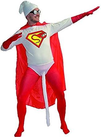 Disfraz de Sperman - Hombre, L: Amazon.es: Ropa y accesorios