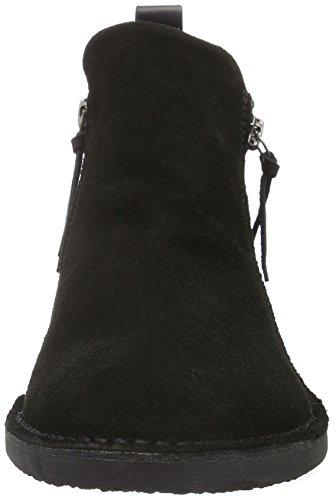 Bianco 27-48832 - Botas con cremallera para mujer Negro (10/Black)