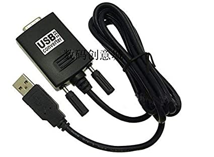 Computer Cables USB 2.0 to Serial RS232 DB9 9Pin Adapter Converter Cable Windows Win 7 Cable Length: 1m