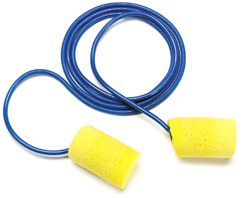 3M E-A-R Classic Corded Earplugs, Hearing Conservation 311-1081 in Econopack Dispenser Box (Case of 500) by 3M Personal Protective Equipment
