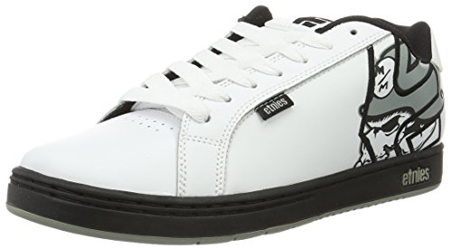 Etnies Men's Metal Mulisha Fader Skateboarding Shoe - Whi...