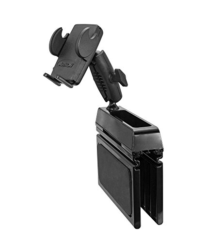 Arkon Car Console Wedge Phone Mount Holder for iPhone X 8 7 Plus 8 7 Galaxy Note Retail Black