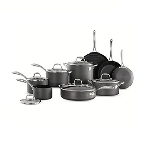 Tramontina 15 Piece Hard Anodized Cookware