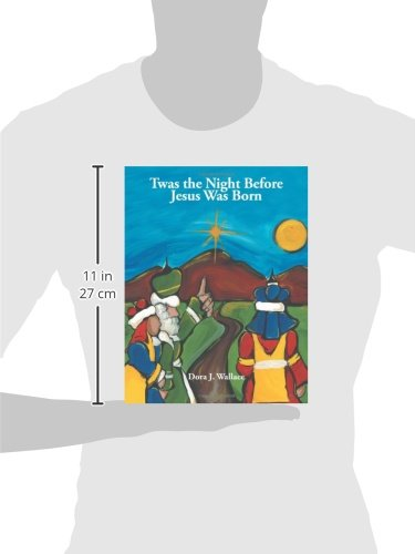 photo relating to Twas the Night Before Jesus Came Printable identify Twas the Evening Ahead of Jesus Was Born: Dora J. Wallace