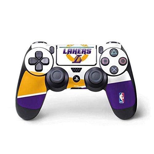 Lakers Skin (NBA Los Angeles Lakers PS4 Pro/Slim Controller Skin - Los Angeles Lakers Split)