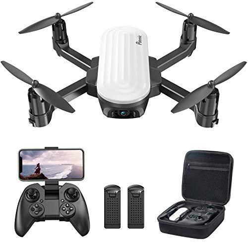 Potensic Elfin Mini Drone para ninos, camara 2K, 20 Minutos de Vuelo, 2 bateria con Bolsa de Transporte, Adecuado para Interiores